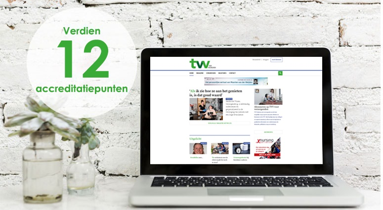 Laptop met TVV Kennistoets